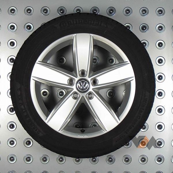 Volkswagen Passat 17 Inch Velgen Corvara Velgen Met Continental Winterbanden