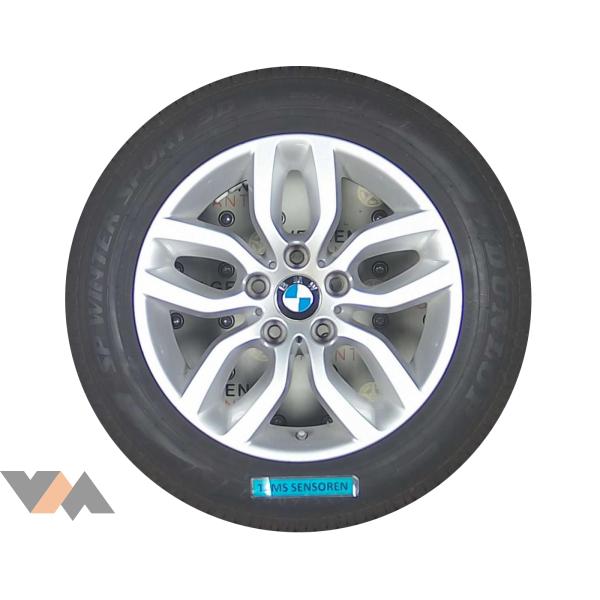 Bmw X3 Styling 305 Velgen 17 Inch Met Dunlop Rof Winter Banden Originele Tpms Sensoren