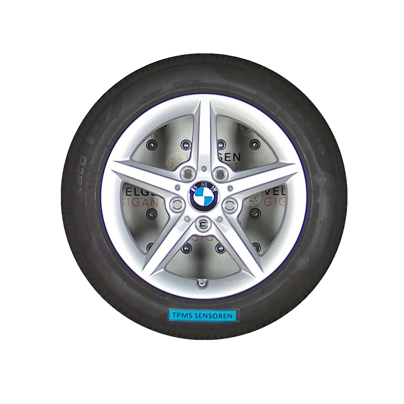 Bmw 1 Serie Styling 654 Velgen 16 Inch Met Pirelli Zomer Banden Incl Originele Tpms Sensoren
